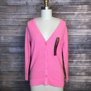 ⭐️ NEW ARRIVAL Merona Pink 3/4 Sleeve Cardigan